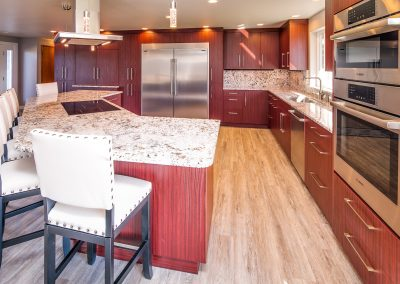 Project feature: Stunning cabinetry in a newly opened kitchen